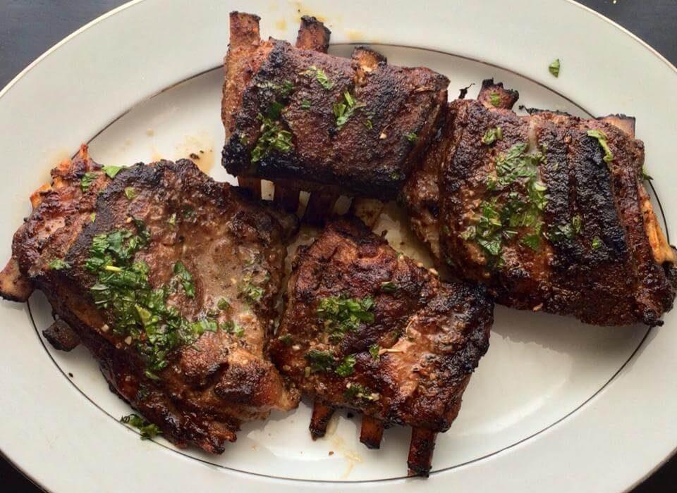 Roasted Lamb Breast recipe