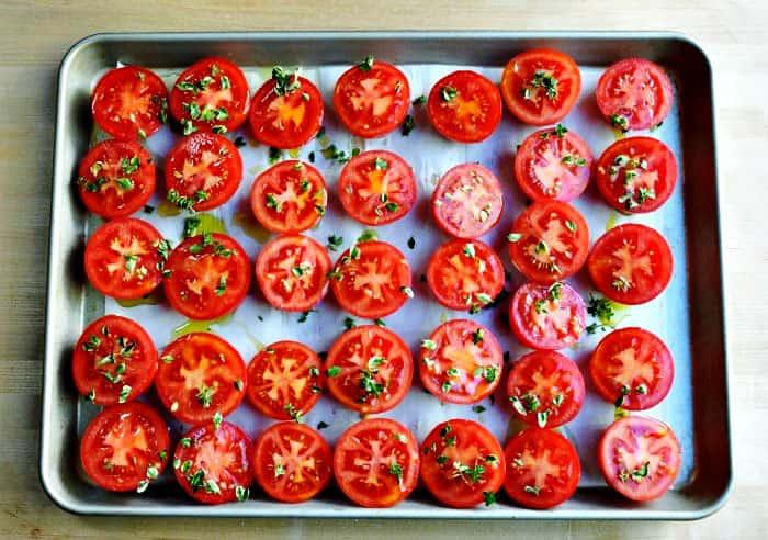 Roasted Plum Tomatoes Recipe
