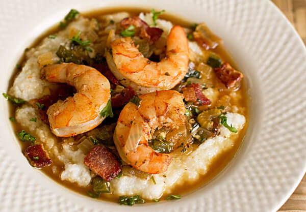 Shrimp with Tasso Gravy Recipe