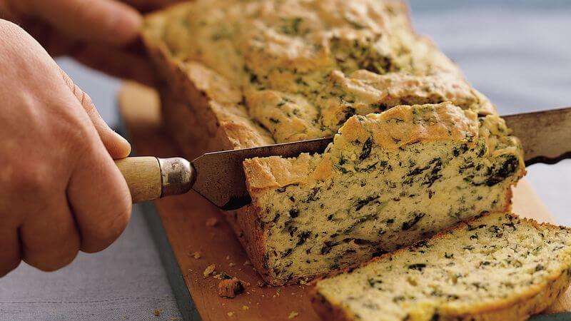 Spinach Bread recipe