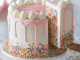 Vanilla Birthday Party Cake