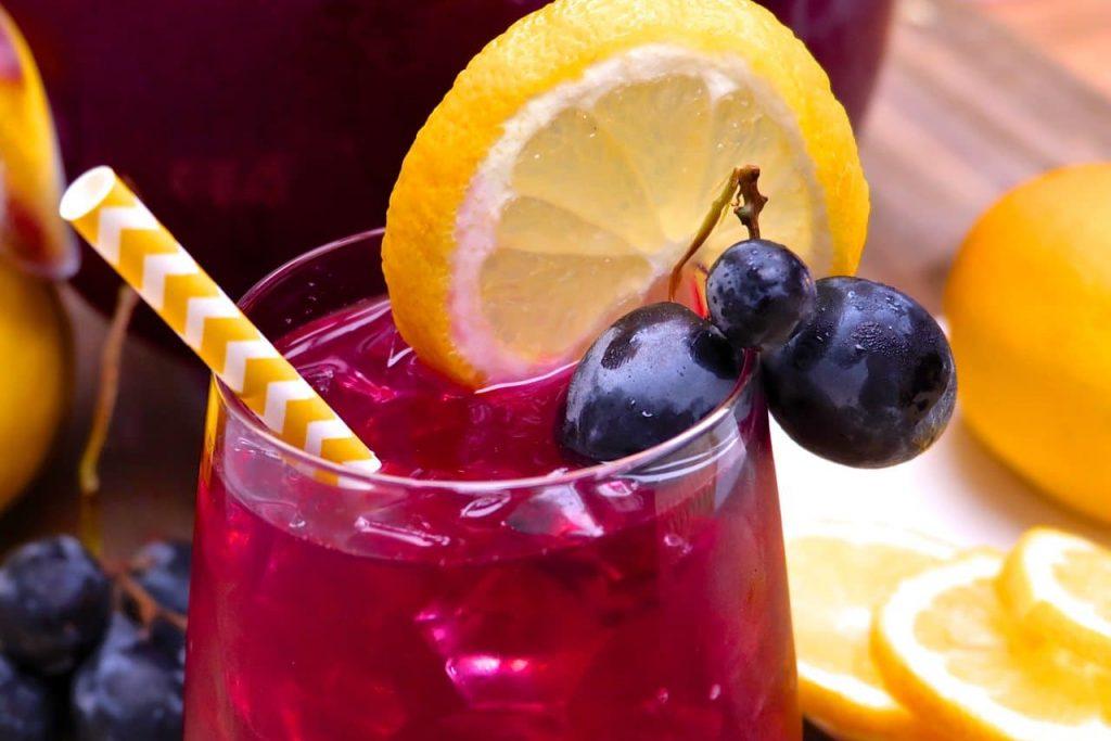 Black Grape Lemonade