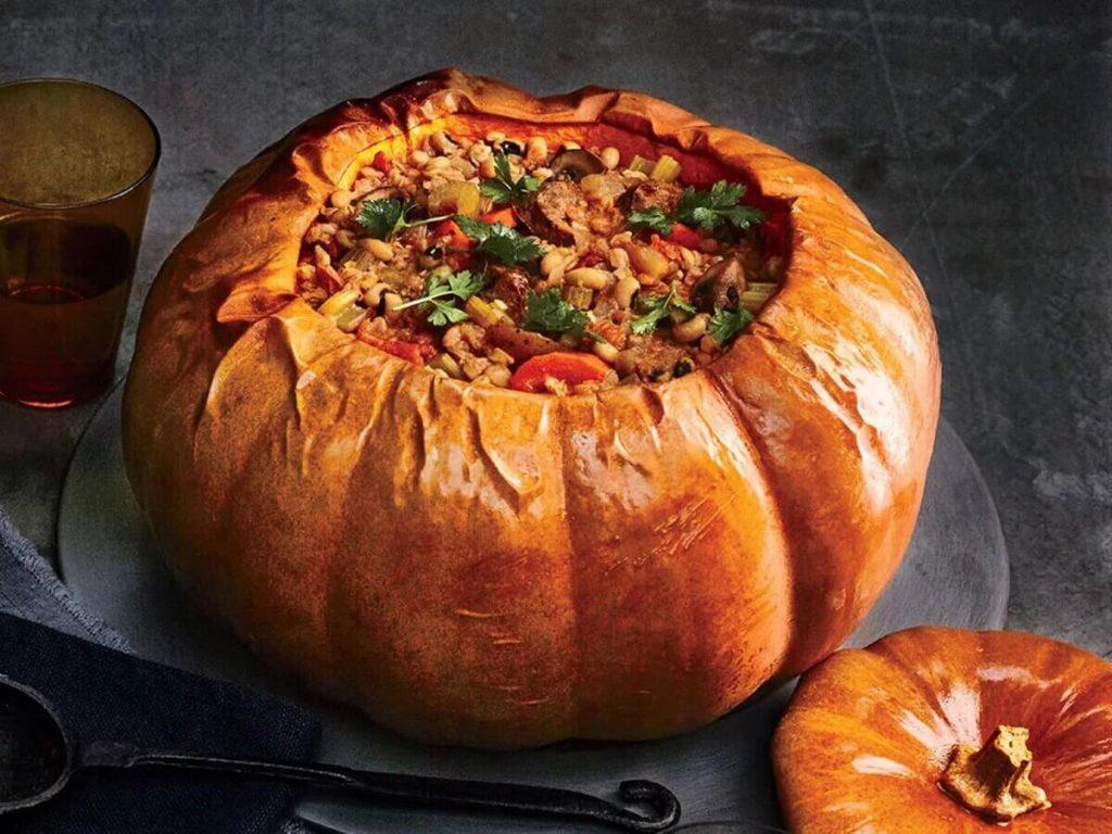 Cinderella Pumpkin recipe