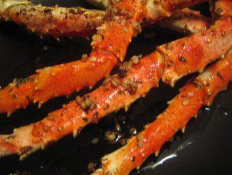 Fried Crab Legs recipe