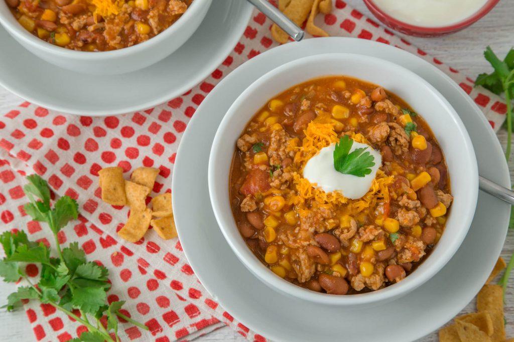 Paula Deen Taco Soup