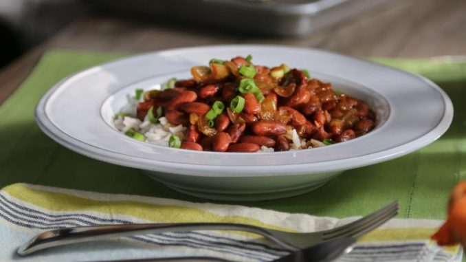 Small Red Beans and Rice