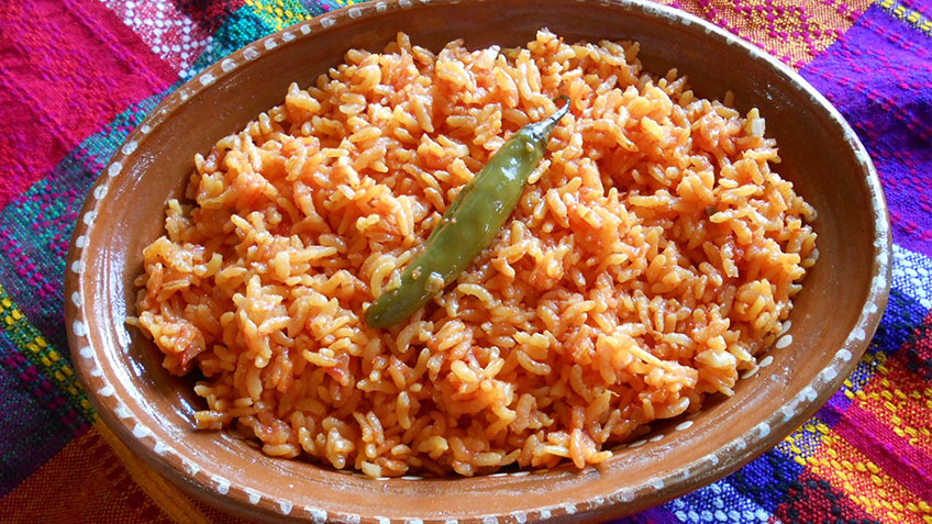Arroz Rojo recipe
