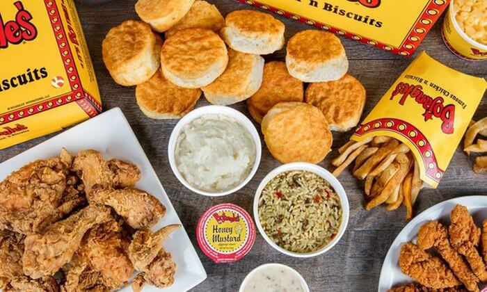 Bojangles' Famous Chicken 'n Biscuits Menu
