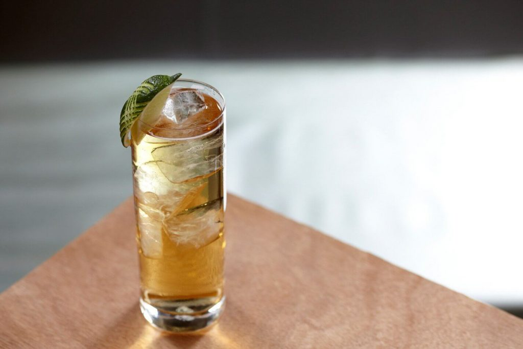 Bourbon and Ginger Ale recipe