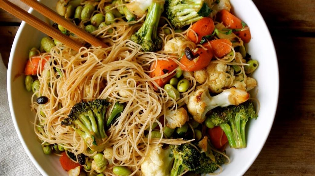 Brown Rice Noodles recipe