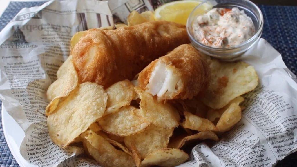 C-Lovers Fish & Chips menu