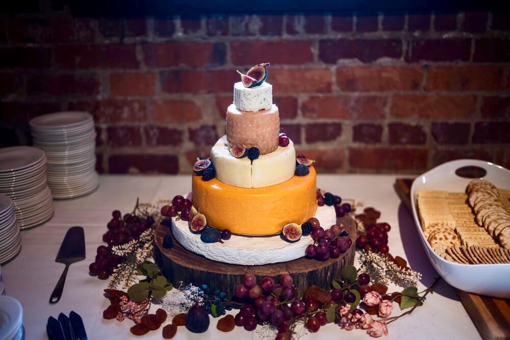 Cheese Wheel Cake recipe
