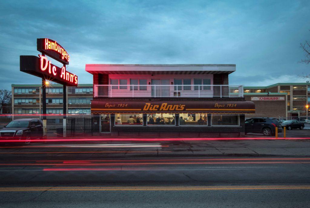 Dic Ann's Hamburgers store