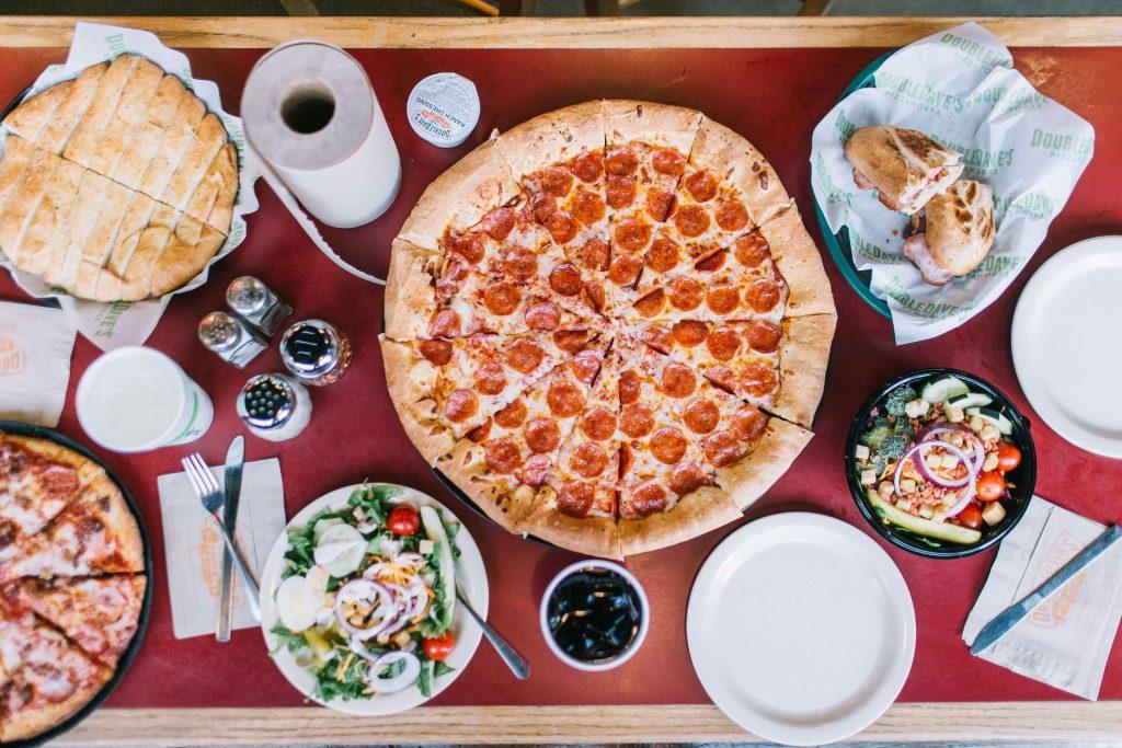 DoubleDave's Pizzaworks menu