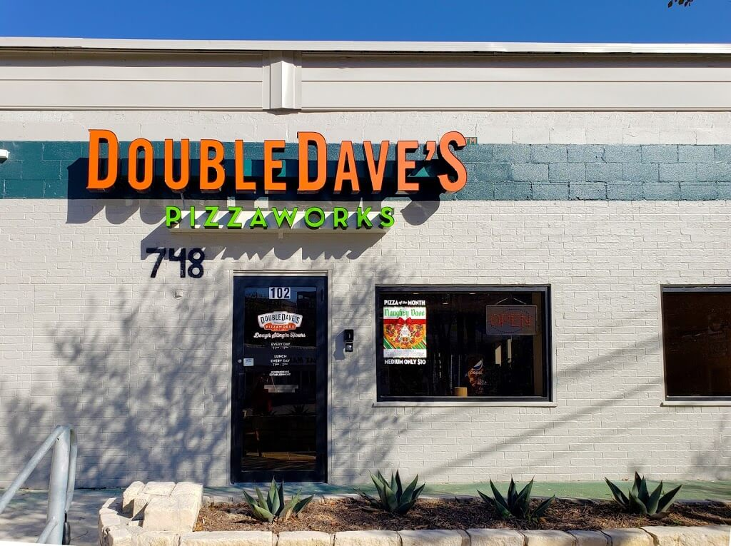 DoubleDave's Pizzaworks store