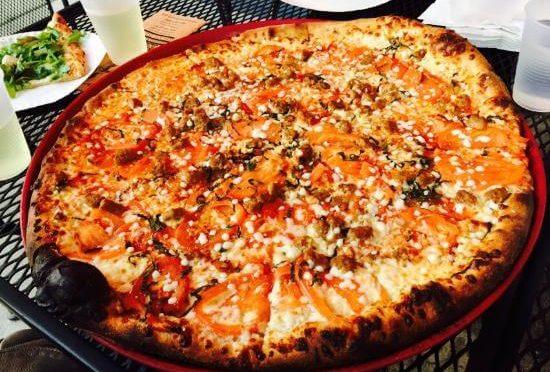 Pizza from Fellini's Pizza