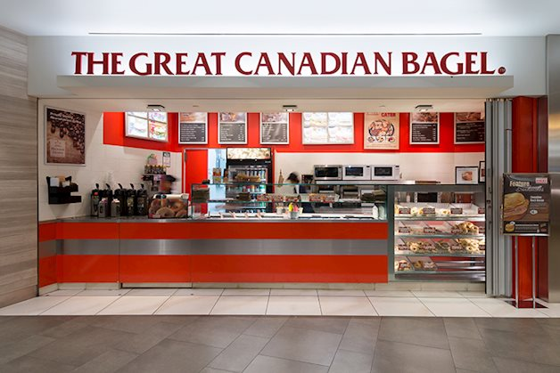Great Canadian Bagel store