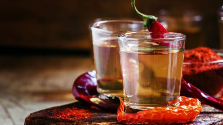 Hot Pepper Infused Vodka recipe