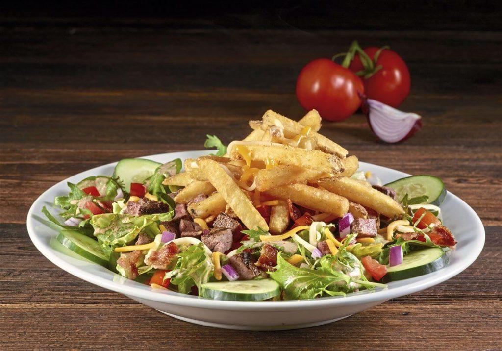 Pittsburgh Style Steak Salad