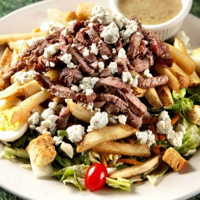 Pittsburgh Style Steak Salad recipe