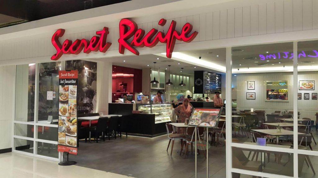Secret Recipe Store