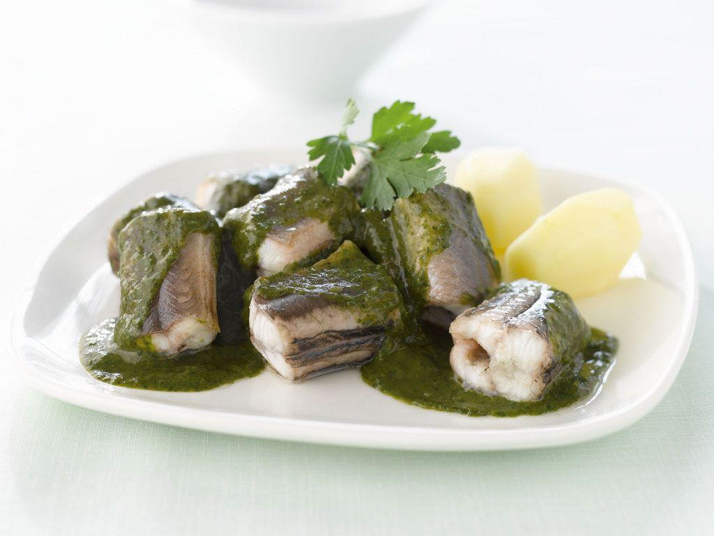 eel in green sauce