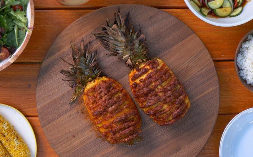 smoked pineapple recipe