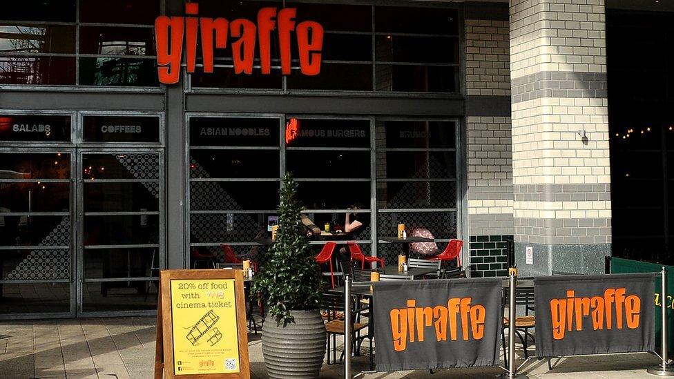 Giraffe Restaurant Store
