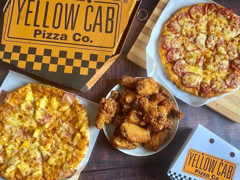 Yellow Cab Pizza Co. menu