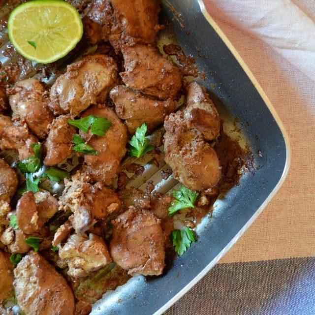 Baked Chicken Liver recipe