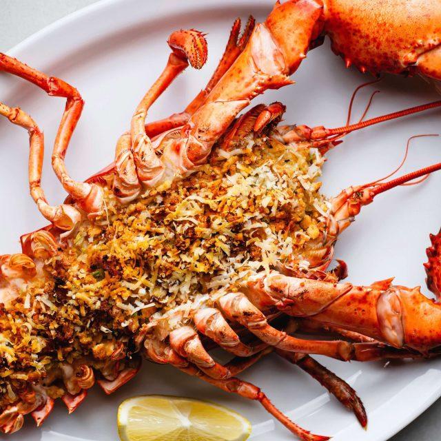 Baked Stuffed Lobster recipe