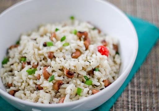 Black-Eyed Peas and Rice