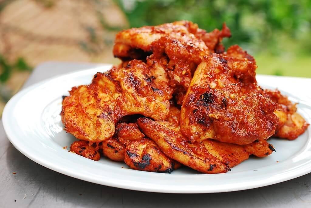 charcoal chicken recipe