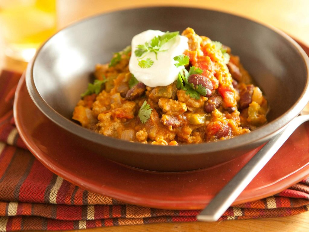 Sweet and Spicy Pumpkin Chili
