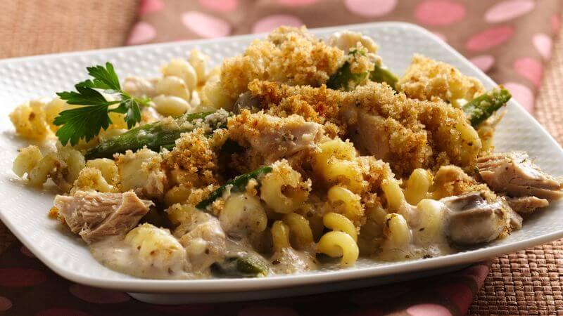 Tuna Alfredo Casserole recipe