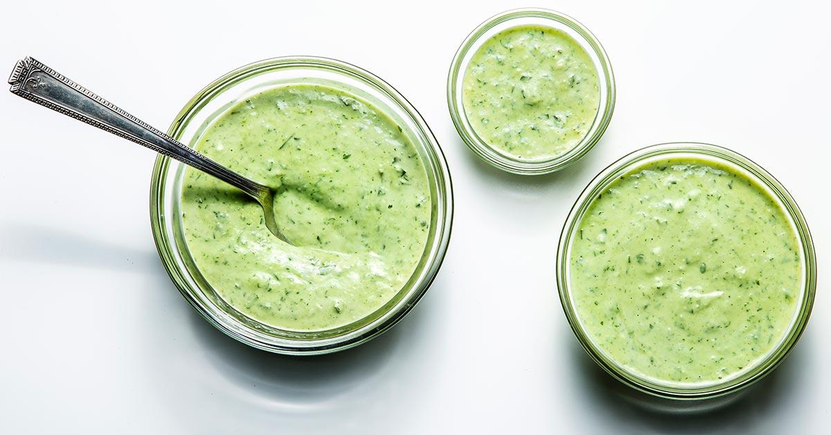green goddess dressing recipe