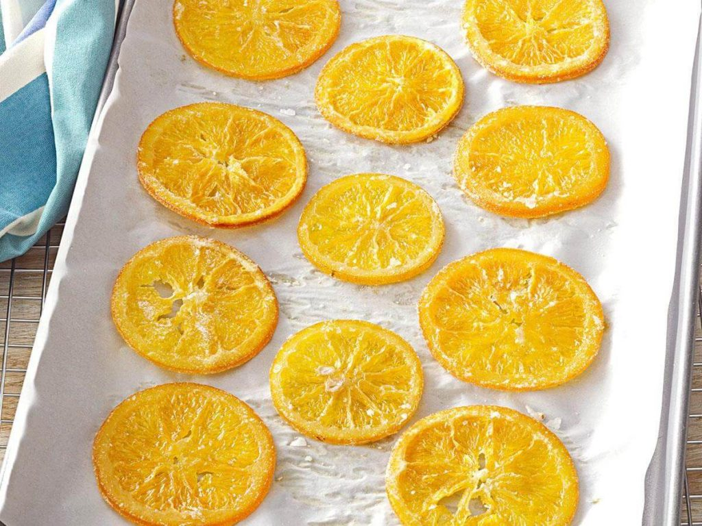 Candied Lime Slices recipe