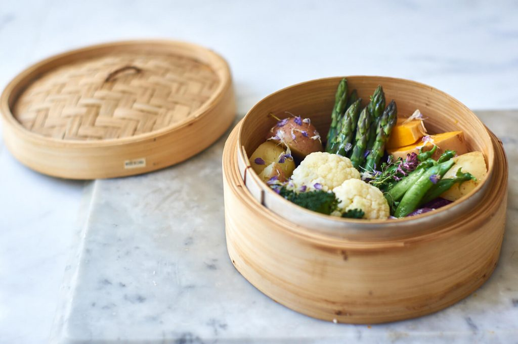 Features of the bamboo steamer