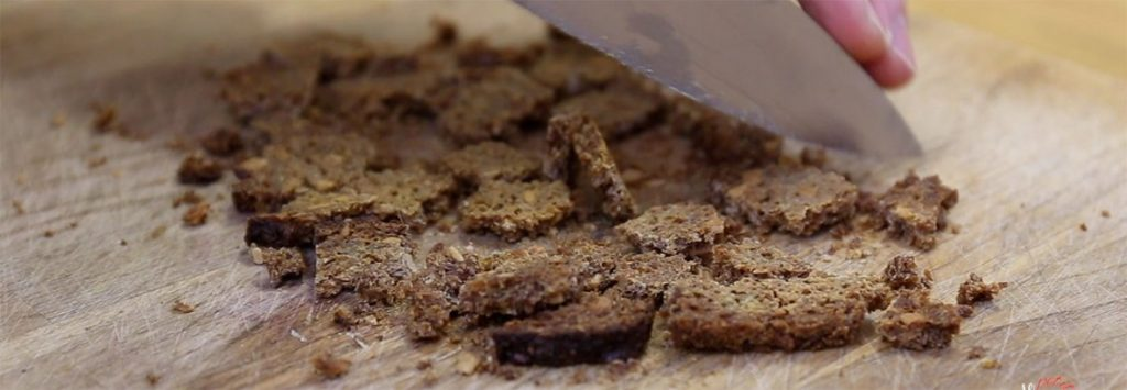 Rye Croutons recipe