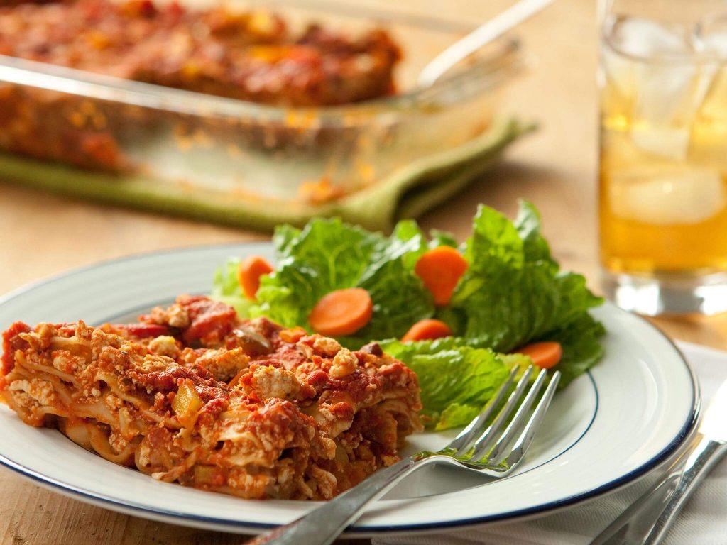 Vegetarian Lasagna with Tofu