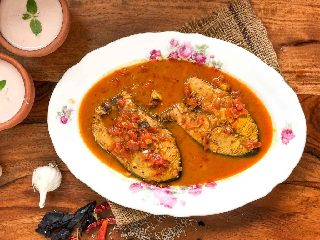 Malvani fish curry