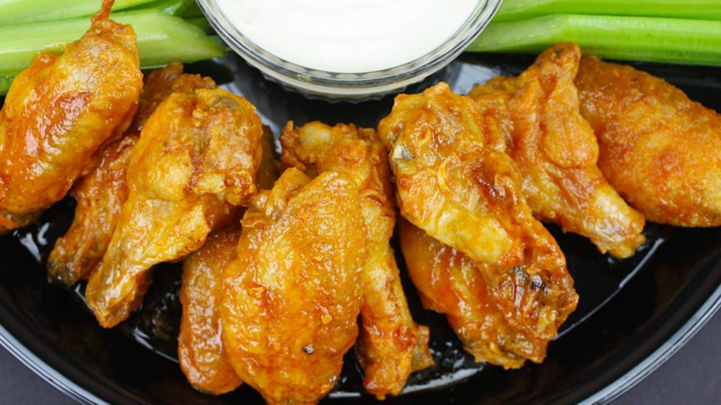baked chicken wings with baking powder