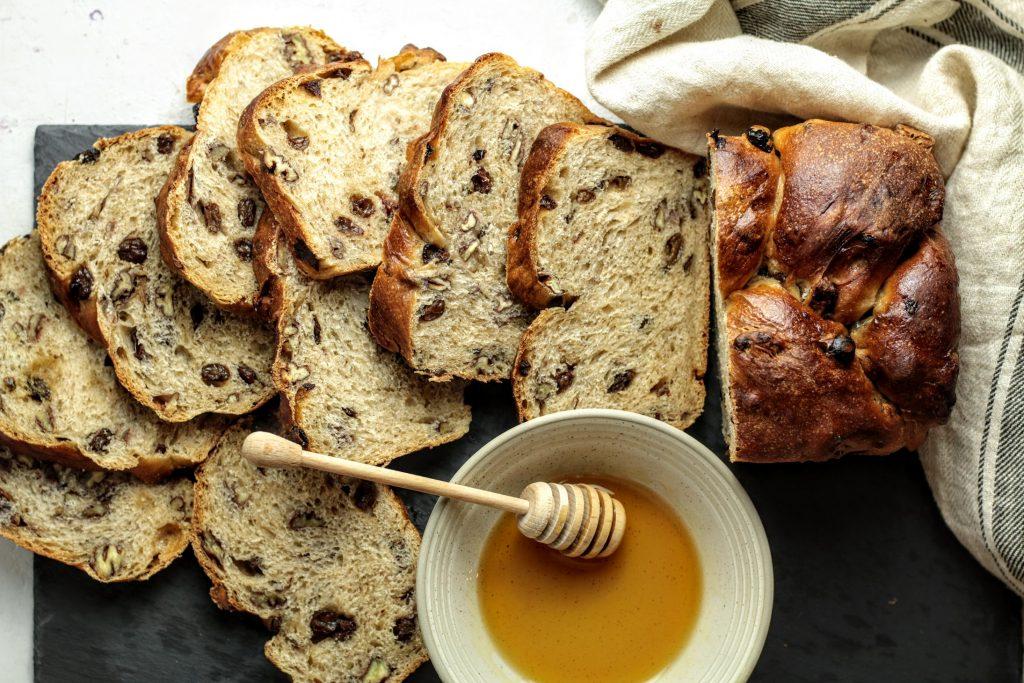 Pecan Raisin Bread