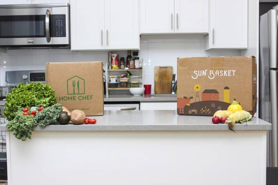 Sunbasket And Home Chef